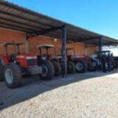 GARAGENS PARA O MAQUINÁRIO DA SECRETARIA DE AGRICULTURA JÁ ESTÁ CONCLUÍDA